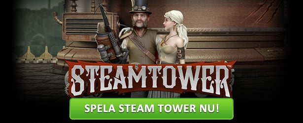 Testspela Steam Tower hos CherryCasino