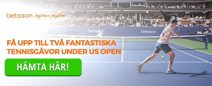 Betsson US Open header