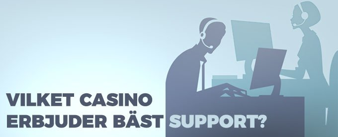 Casino med bäst Live chat