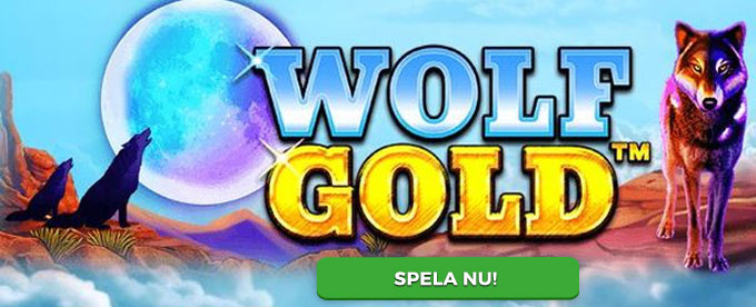 Wolf Gold slot header