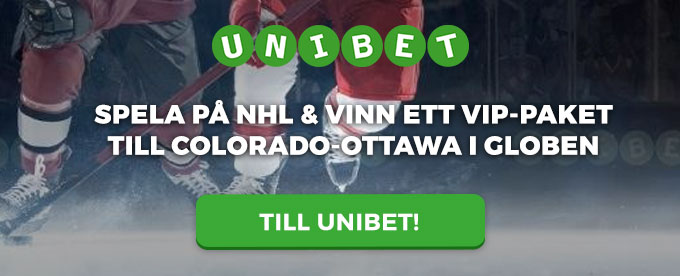 Unibet NHL header