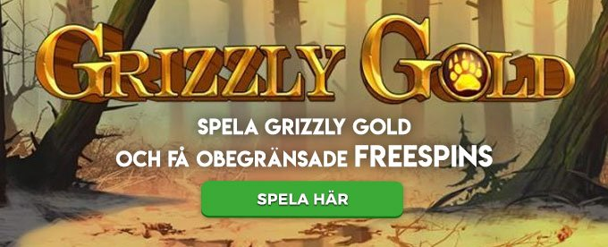 Spela nya Grizzly Gold