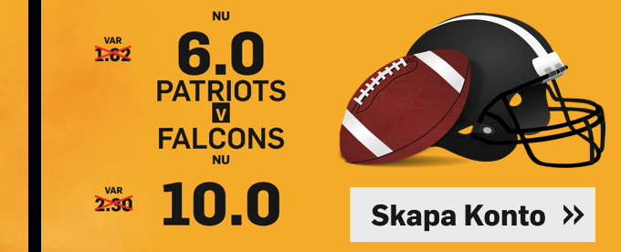 Bäst odds på Super Bowl 2017