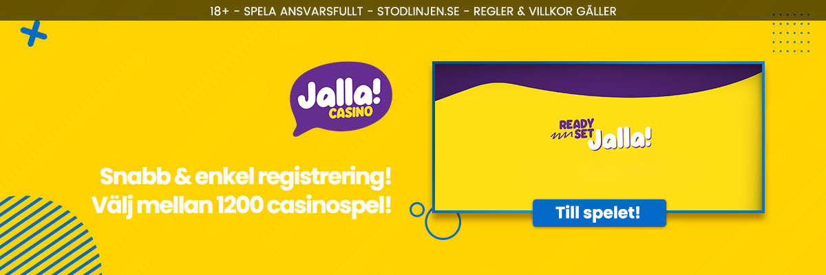Jalla Casino header