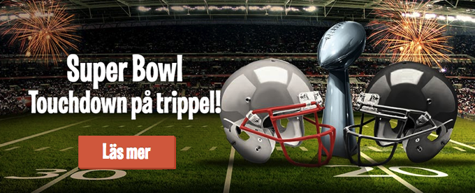 Super Bowl gratisspel, bonuspengar och free spins