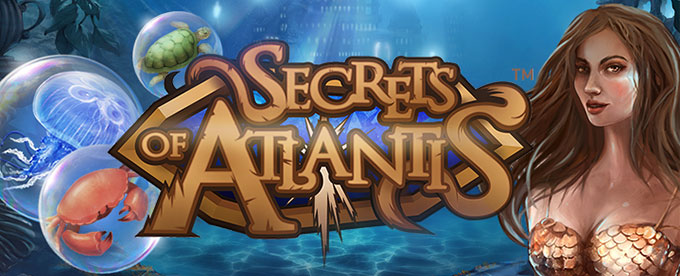 Free spins i The Secrets of Atlantis