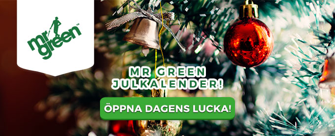 Mr Green Julkalender