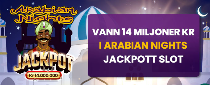 Hajper Casino och Arabian Nights