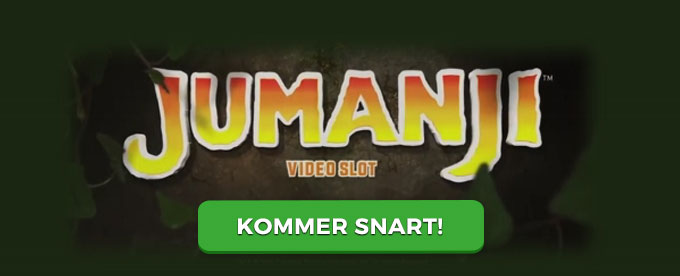 Jumanji: Welcome to the Jungle slot
