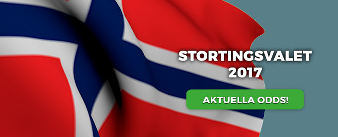 Odds Norge val 2017