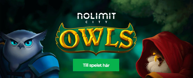 Nya Owls slot från Nolimit City