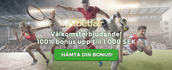 Betfair Sport header