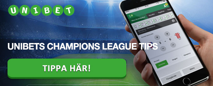 Unibet tips - Tippa Champions League