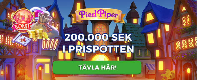 Pied Piper Slot Turnering