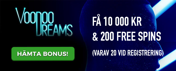Voodoo Dreams free spins